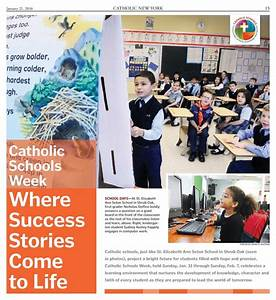 Catholic Schools Week 2016 | Catholic New York