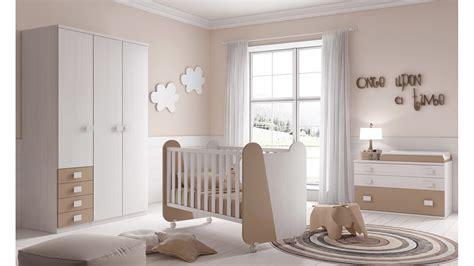 Chambre Complète Bébé Miki Avec Lit, Commode Glicerio