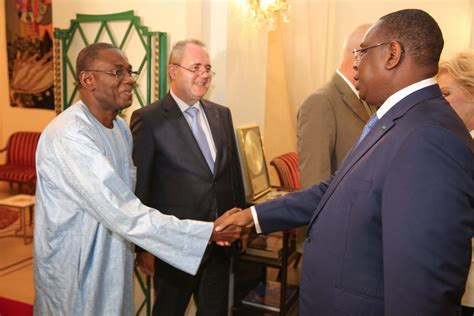 meeting with h e macky sall president of the republic of senegal 87