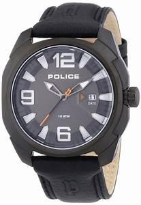 Bracelet Homme Marque Italienne : bracelet montre police cuir ~ Dode.kayakingforconservation.com Idées de Décoration