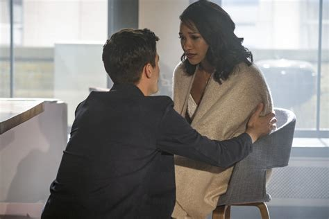 flash recap wally leaves central city  cecile