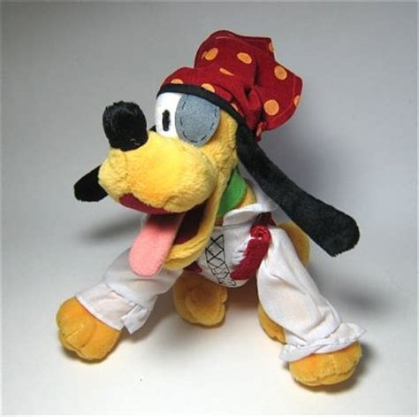 pirate pluto plush stuffed doll   plush collection