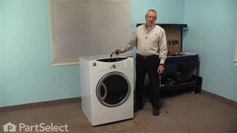 dryer repair replacing  top bearing ge part