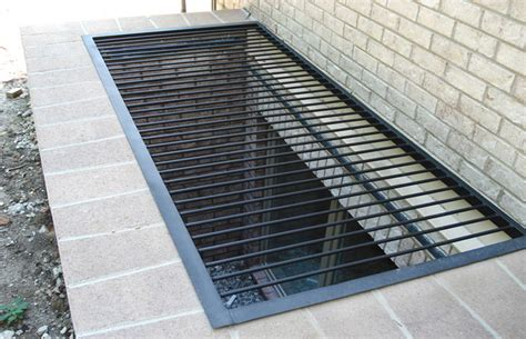 galvanized window well grating galvanized 8 awesome metal grates for window 1190