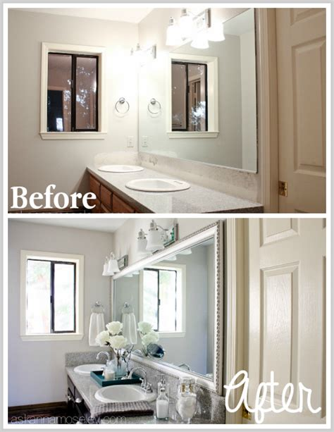 Bathroom Mirror Makeover With Mirrormate  Ask Anna