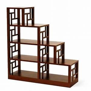 Etagere Escalier Bois : etageres en escalier maison design ~ Teatrodelosmanantiales.com Idées de Décoration
