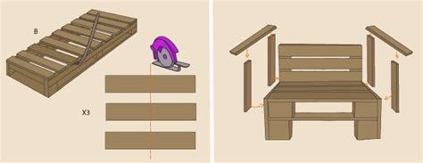 siege en palette comment fabriquer un fauteuil en palette ooreka