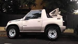 1993 Suzuki Vitara Cabrio  Et Ta   U2013 Pictures  Information And Specs