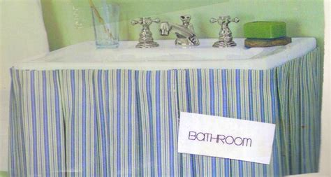 ideas for small bathroom striped bathroom sink skirt bath room sets retired