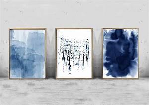 the best navy blue wall art With blue wall art