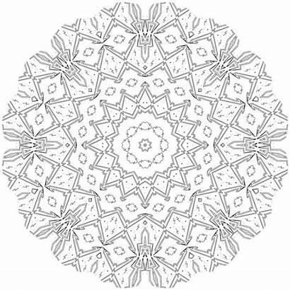 Coloring Pixabay Mandalas Adult