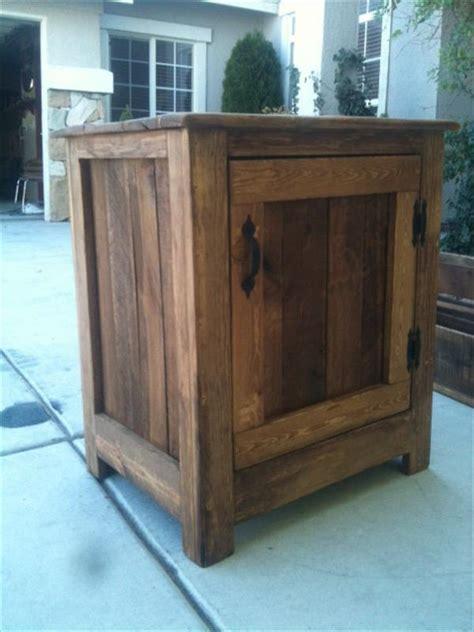diy pallet nightstand  floor cabinet pallet furniture plans