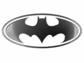 Batman Logo Coloring Pages Free