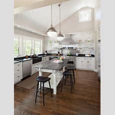 Open Kitchen Island  Houzz