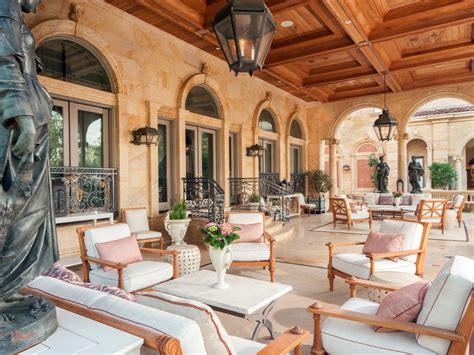 neoclassical chateau style estate  texas idesignarch interior design architecture