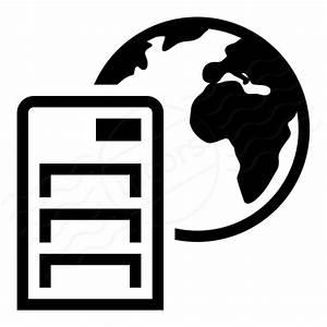 IconExperience » I-Collection » Server Earth Icon