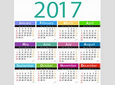 2017 Calendar Clipart – 101 Clip Art