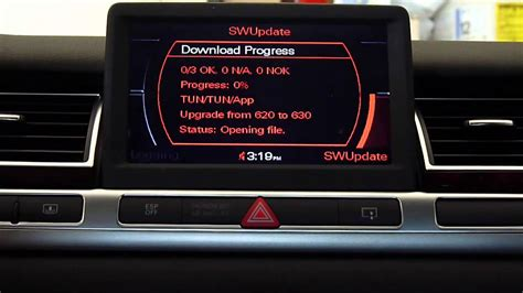 audi mmi software update     youtube