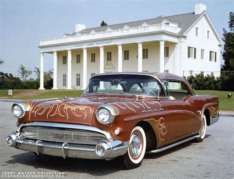 Kermit Hanson 1957 Buick  Custom Car Chroniclecustom Car