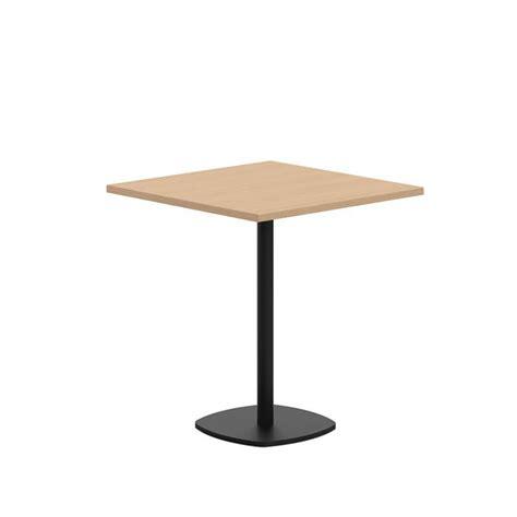 table de cuisine carree table de cuisine carrée en stratifié avec pied