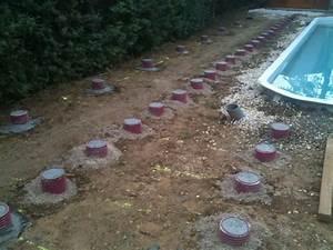 Terrasse Bois Sur Plot Beton : terrasse bois piscine sur plot beton nos conseils ~ Melissatoandfro.com Idées de Décoration