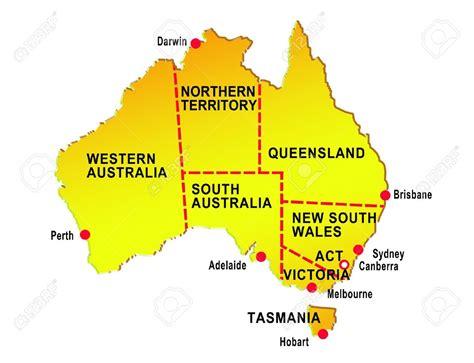 map  australia  cities keshmirime