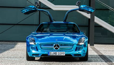 Great price $1,110 off avg. Mercedes-Benz SLS AMG Electric Drive - specs, price, images on ecomento.com