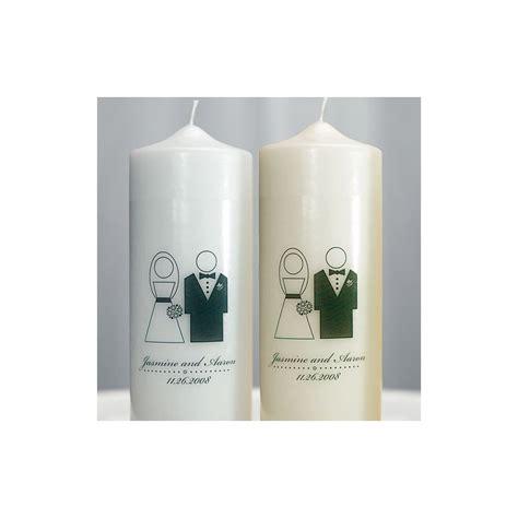 bougies personnalis 233 s pour mariage palzon