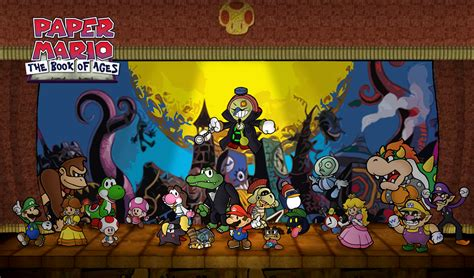 paper mario fan game paper mario the book of ages by chetrippo on deviantart