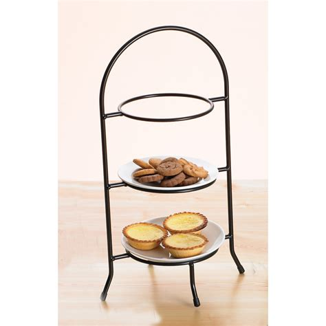 creative home iron works  tier dessert plate rack tiered servers  hayneedle