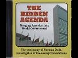 The Hidden Agenda For World Government - YouTube