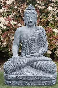 Statue Bouddha Maison Du Monde : statue bouddha bh misparsha mudra 150 cm ~ Teatrodelosmanantiales.com Idées de Décoration