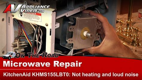 Kitchenaid Oven Not Heating Up by Kitchenaid Khms155lbt0 Microwave Diagnostic Repair Will