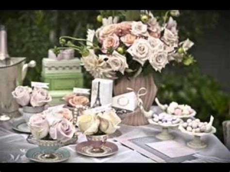 vintage wedding table decorations youtube