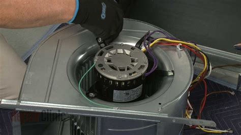 furnace blower replacement lennox furnace blower motor replacement lx7920 youtube