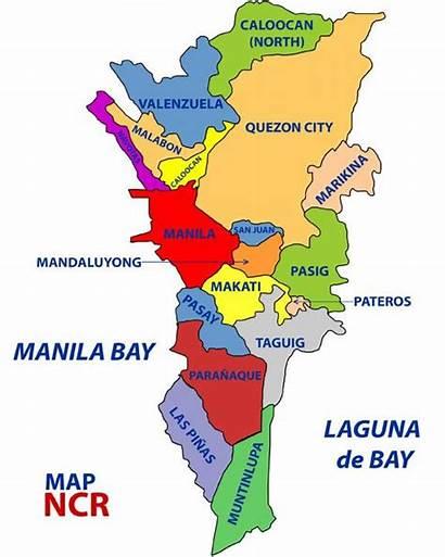 Map Mapa Manila Capital Ncr Philippines Ng