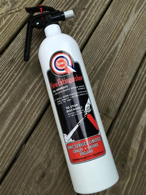 fire extinguisher installation classic mini cooper