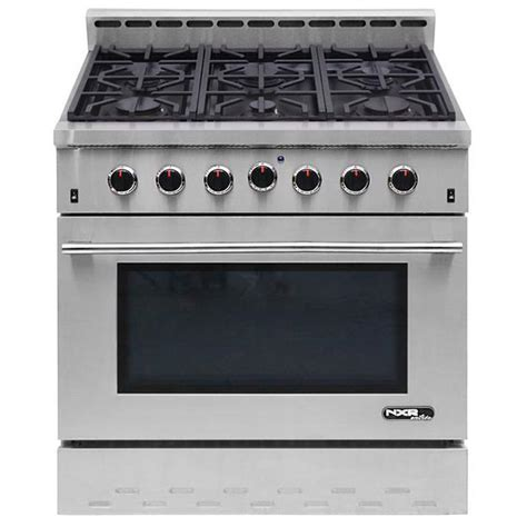 NXR Entree 36 in 55 cu ft Professional Style Gas Range