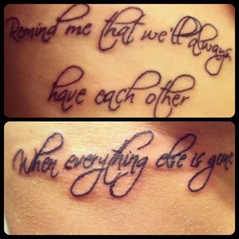 big brother little sister tattoo quotes