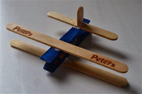 crafternoon garden easy wooden peg aeroplanes