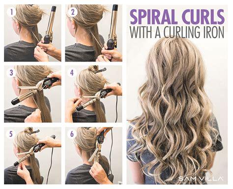 curl  hair   ways