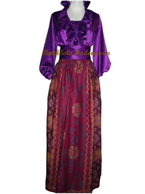 indonesian ethnic dress dress batik modern