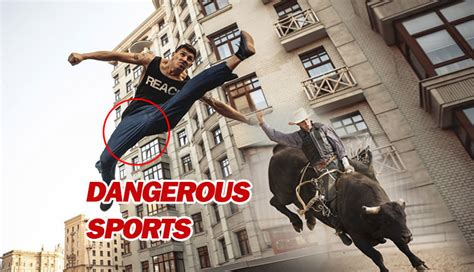 News: TOP 10 Most Dangerous Sports in the World