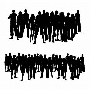Crowds of people Vector | Free Download