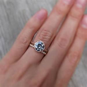 grey moissanite has anyone seen this weddingbee With grey wedding rings