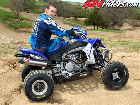 atv motocross kawasaki s chad wienen atv motocross track with yamaha s