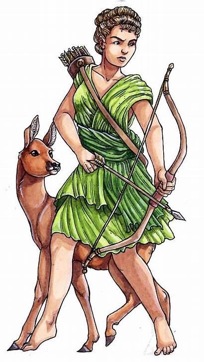 Diana Roman Gods Goddesses Goddess Jagd Sara