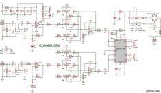 Component Watt Power Amplifier Circuit Board Btl
