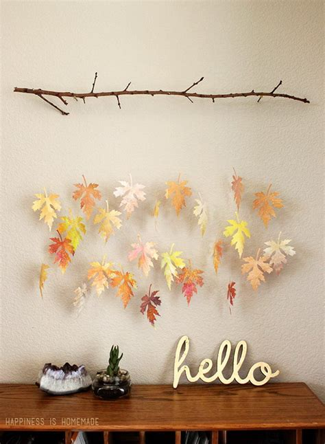 diy crafts  fall leaves hative