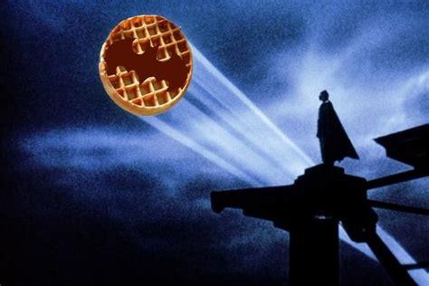 Batman Waffle Blank Template